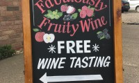 Free wine tasting every Saturday